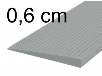 Drempelhulp 0,6 cm grijs