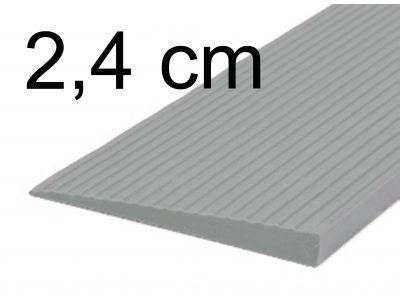 Drempelhulp 2,4 cm grijs