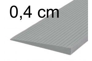 Drempelhulp 0,4 cm grijs