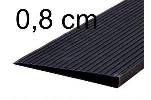 Drempelhulp 0,8 cm zwart
