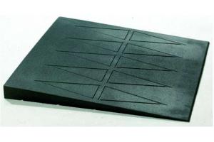 Rubber drempelhulp 5,7 x76x76cm(tweedehands)