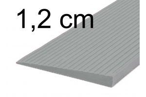 Drempelhulp 1,2 cm grijs