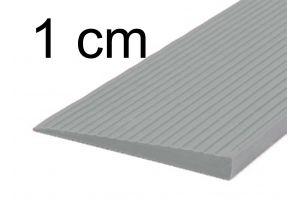 Drempelhulp 1 cm grijs