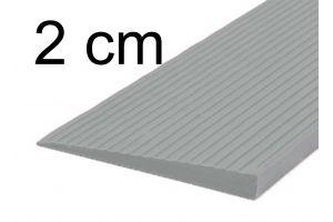 Drempelhulp 2 cm grijs
