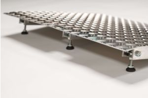 Verstelbare aluminium drempelhulp 7,5 - 10 cm (Tweedehands)